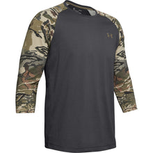 Load image into Gallery viewer, Under Armour Camo Sleeve Utility Tee Charcoal-barren Camo Medium