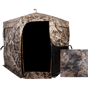 Ameristep Pro Series Thermal Hub Blind Mossy Oak Elements Terra