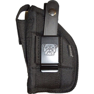 Bulldog Extreme Hip Holster Black Rh-lh Standard 2 To 5 In. With Laser Light