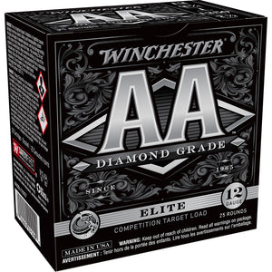 Winchester Aa Diamond Grade Load 12 Ga. 2.75 In. 1 Oz. 1250 Fps 7.5 Shot 25 Rd.