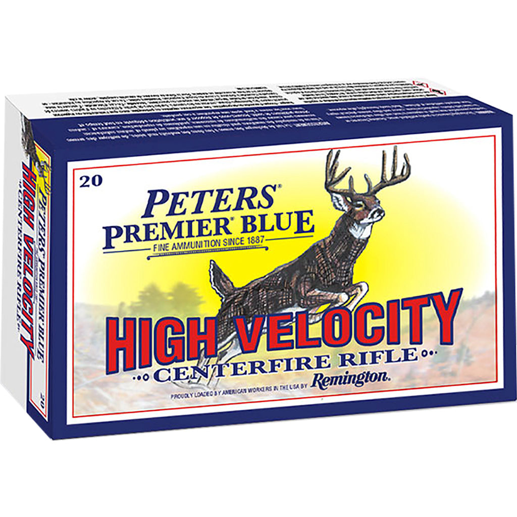 Peters Premier Blue Rifle Ammo 270 Win. 130 Gr. Btp 20 Rd.