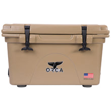Load image into Gallery viewer, Orca Hard Sided Classic Cooler Tan 26 Quart
