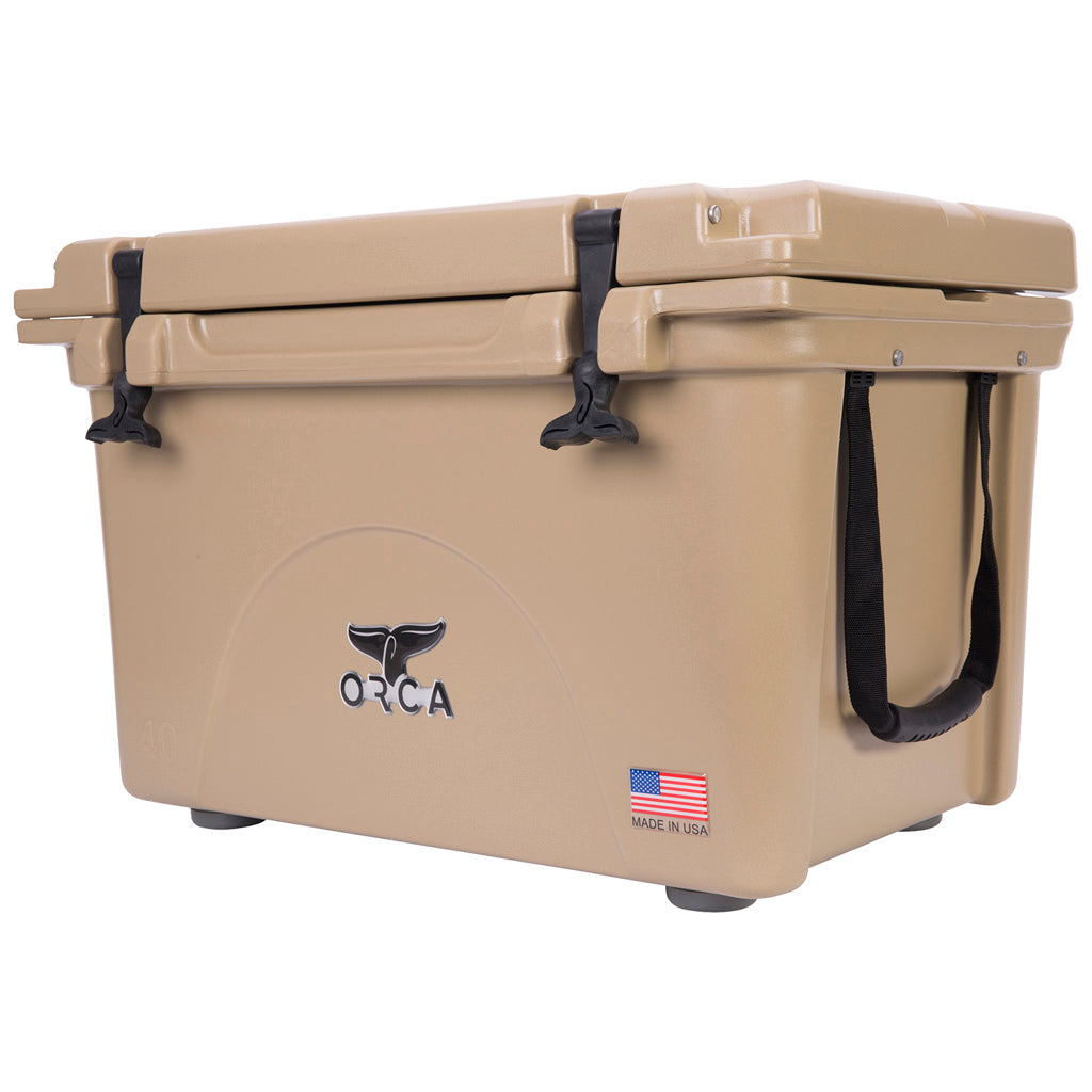 Orca Hard Sided Classic Cooler Tan 40 Quart