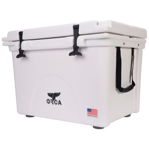Orca Hard Sided Classic Cooler White 58 Quart