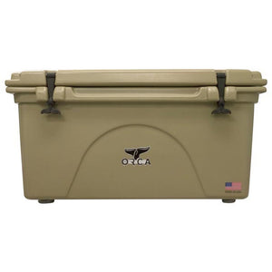 Orca Hard Sided Classic Cooler Tan 75 Quart