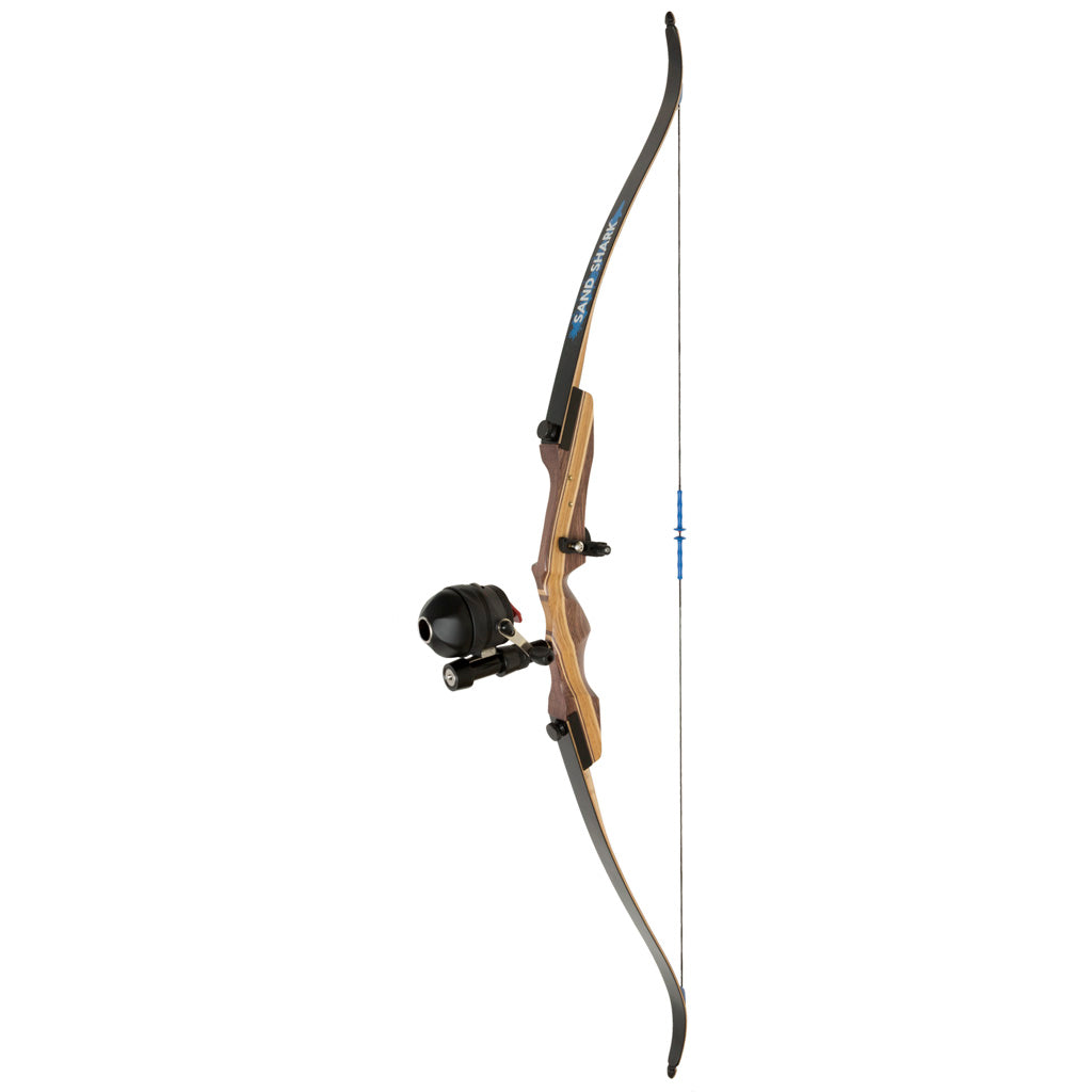 Fin Finder Sand Shark Recurve Package W-spin Doctor Bowfishing Reel 62 In. 35 Lbs. Lh