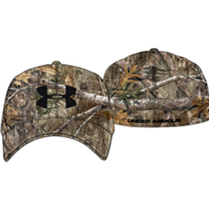 Under Armour Mens Icon Stretch Fit Cap Realtree Edge-brown-black Medium-large