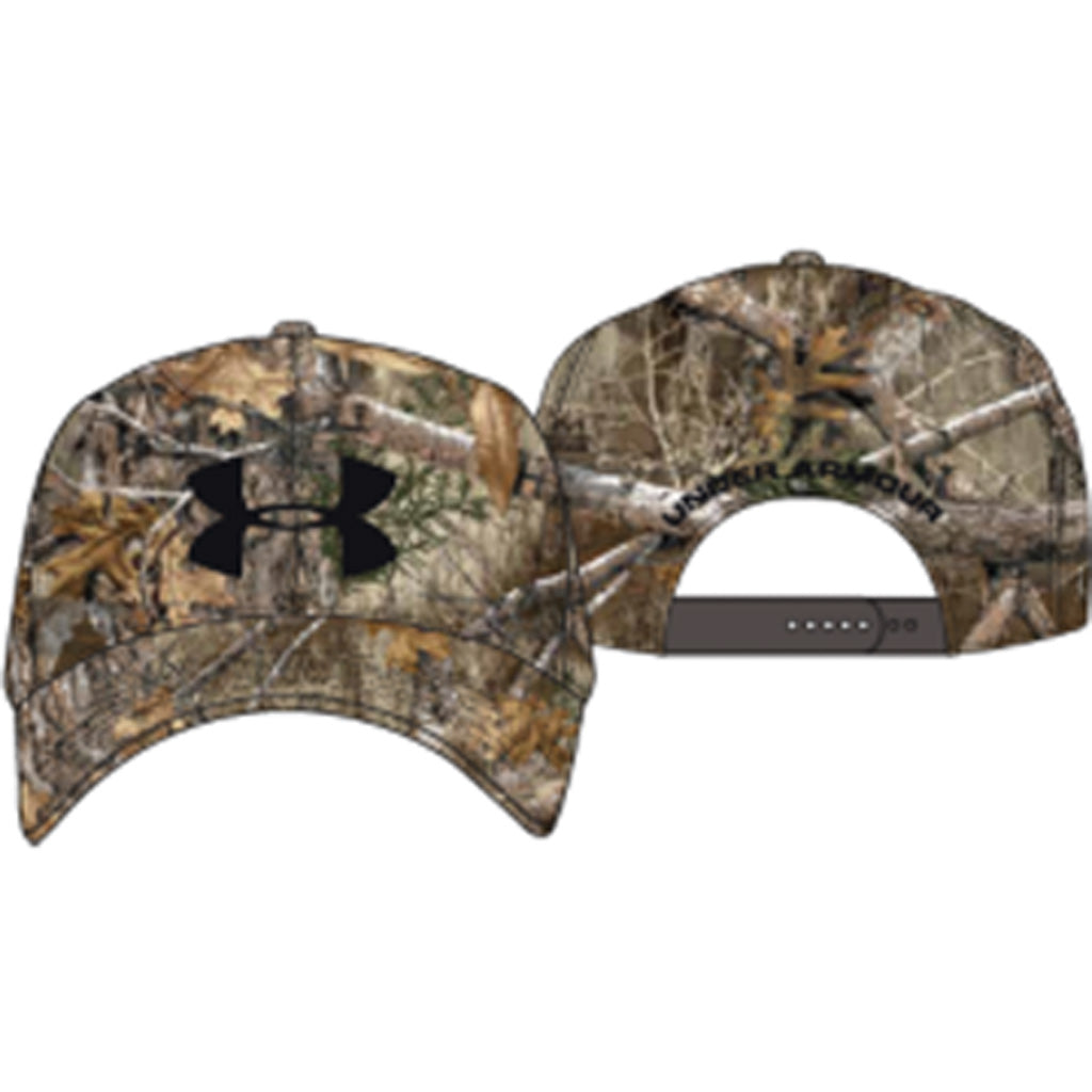 Under Armour Mens Camo 2.0 Cap Realtree Edge-brown-black Osfa