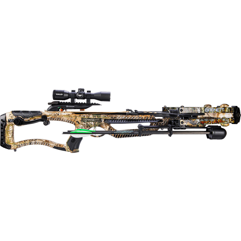 Barnett Raptor Pro Crossbow With Crank Cocking Device