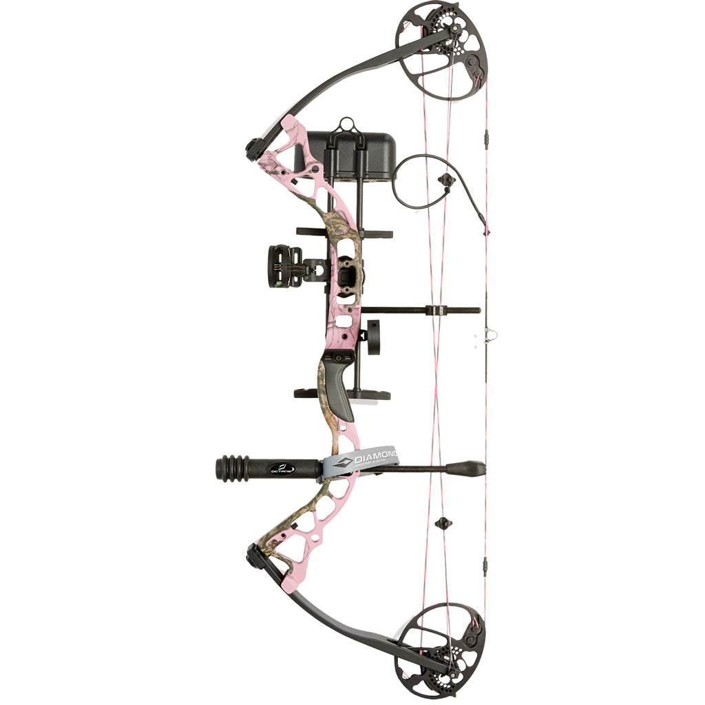 Diamond Infinite Edge Pro Bow Package Pink 13-31 In. 70 Lbs. Lh