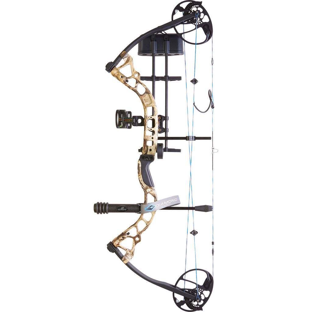 Diamond Infinite Edge Pro Bow Package Mossy Oak Break Up Country 13-31 In. 70 Lbs. Rh