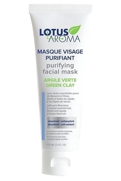 Purifying Facial Mask – Green Clay