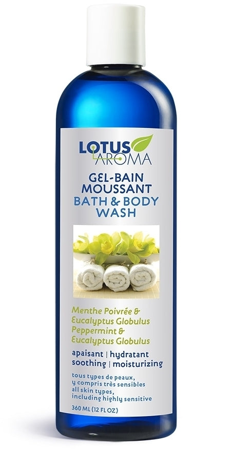 Peppermint & Eucalyptus Globulus Bath & Body Wash