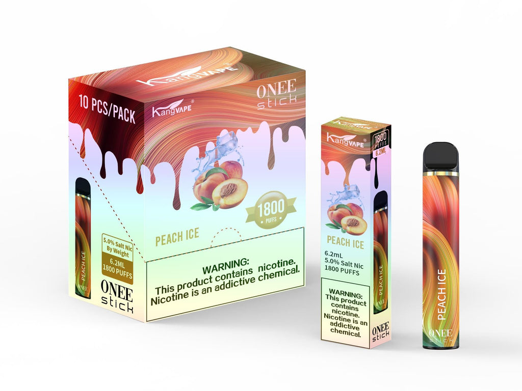 KangVAPE Onee Stick 10 pack peach ice