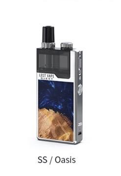 Lost Vape Orion Q-PRO ss oasis stabwood