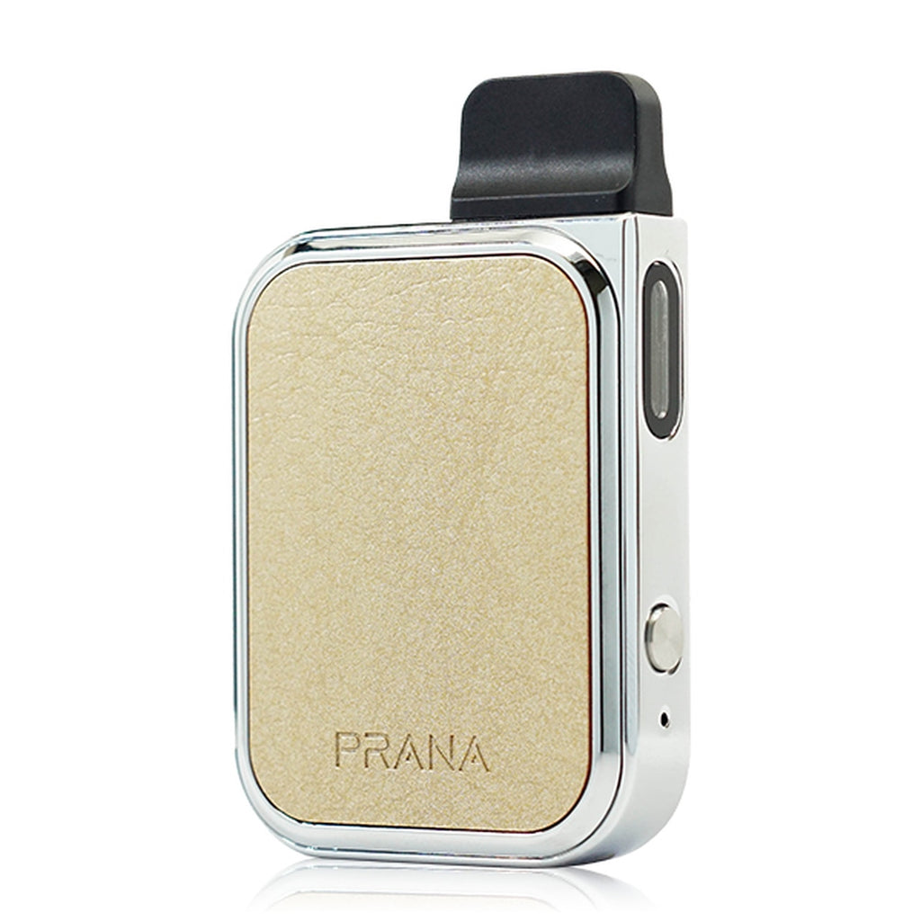 Lost Vape Prana champagne gold leather