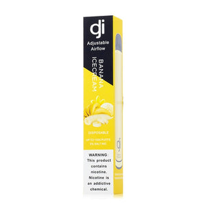 dji disposable banana ice cream 5 pack