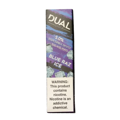 Dual Stick Disposable blue raz 10 pack