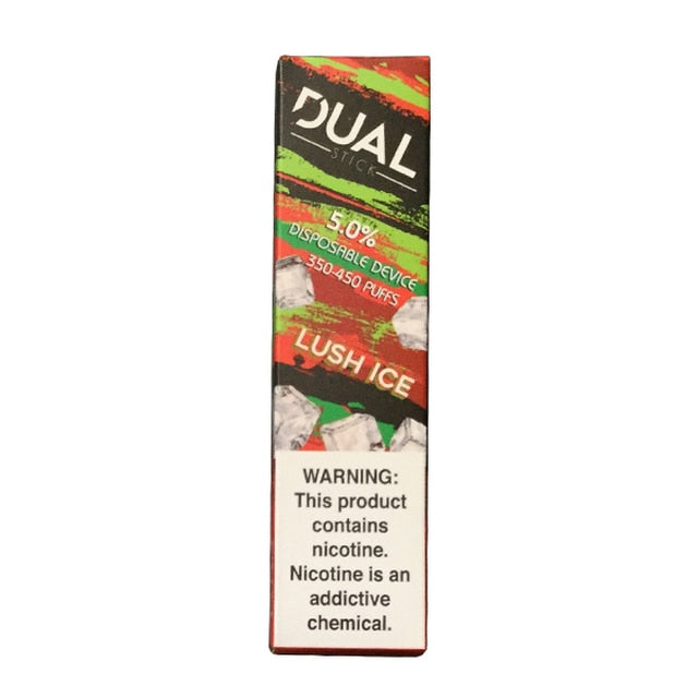 Dual Stick Disposable lush ice 10 pack