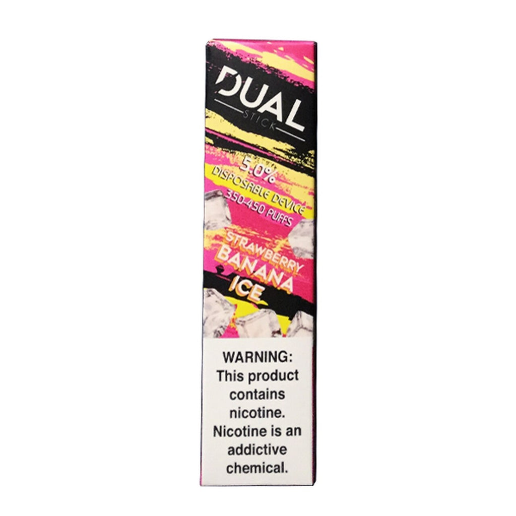 Dual Stick Disposable strawberry banana ice 10 pack