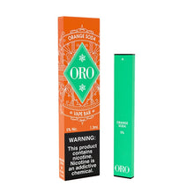 Load image into Gallery viewer, oro disposable orange soda 10 pack
