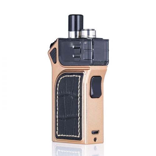 smok mag pod kit matte gold