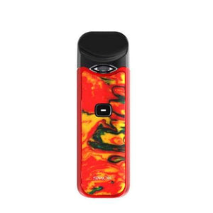 smok nord red and yellow resin