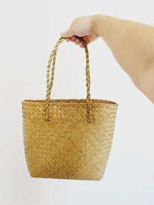 Everyday Handwoven Seagrass Tote