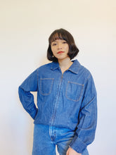 Load image into Gallery viewer, Staple Denim Zip Top Jacket