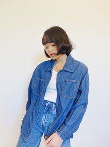 Staple Denim Zip Top Jacket