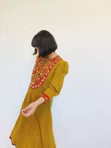 Amber Puff Sleeve Shell Dress