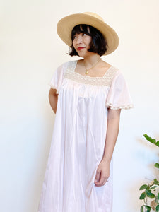 Laced Nightgown Dress