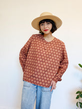 Load image into Gallery viewer, Garnet Button Blouse