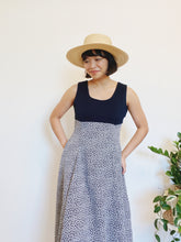 Load image into Gallery viewer, Sweet Navy Floral Dress