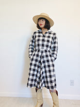 Load image into Gallery viewer, Gingham Dress with Pockets (Union Made)
