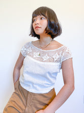Load image into Gallery viewer, Antique Edwardian Crochet Top
