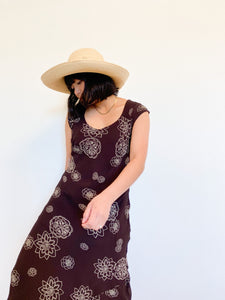 Chocolate Floral Dress