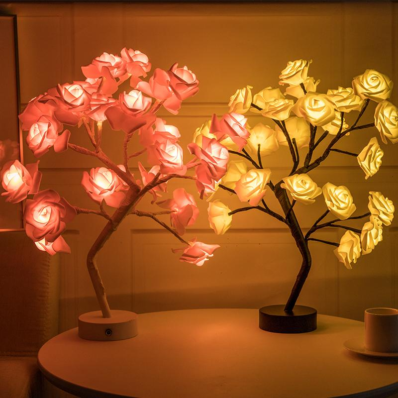 THE ROSE TREE LAMP | SPARKLY TREES (Buy 2 Get 50% OFF)