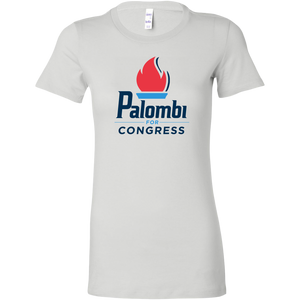 Palombi for Congress Bella T-Shirt - White