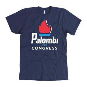 Palombi for Congress T-Shirt - Navy
