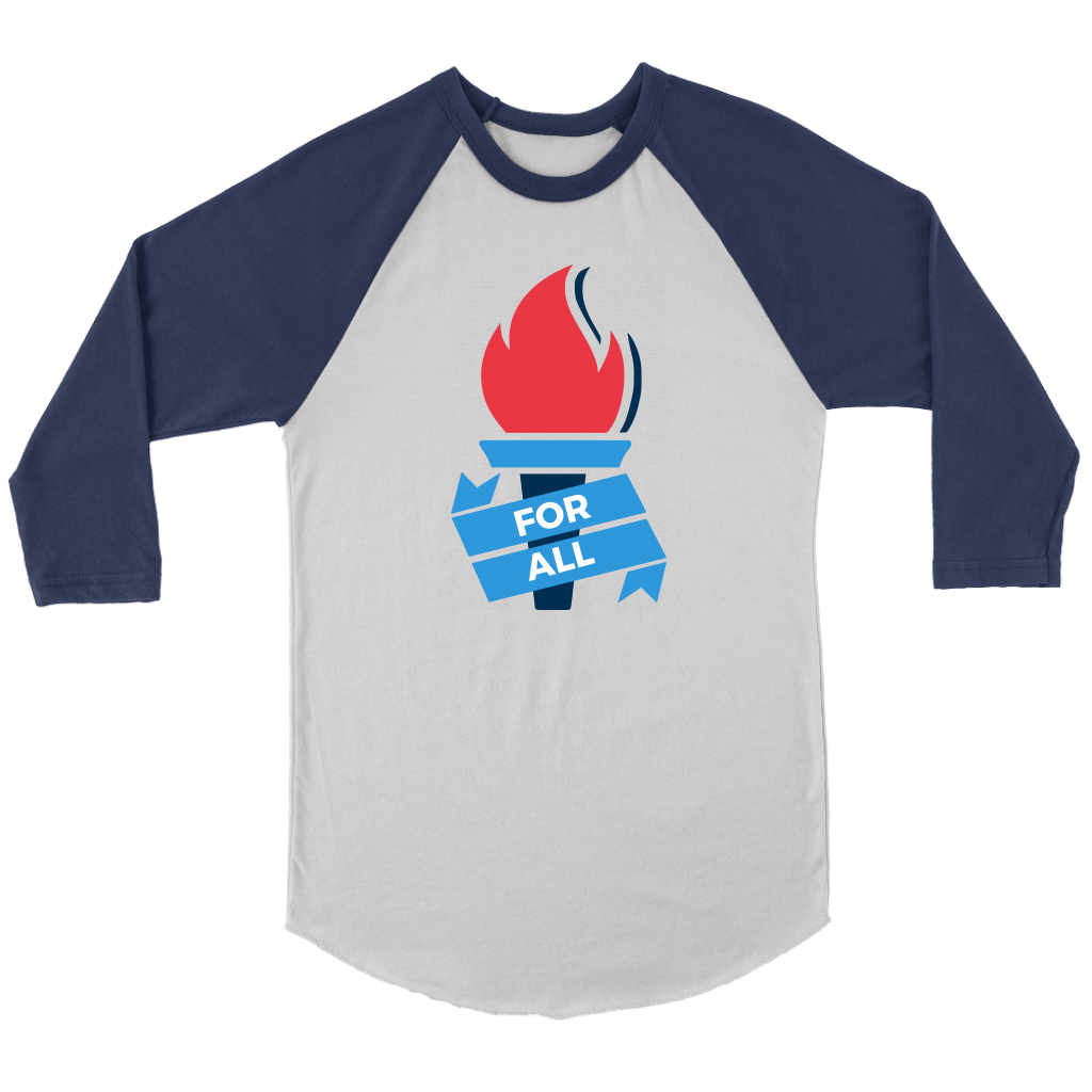 Liberty For All 3/4 Raglan Shirt