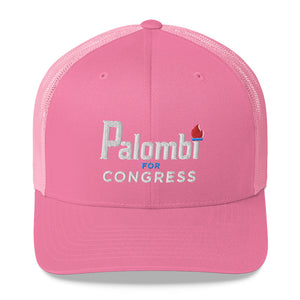 Trucker Cap - Palombi for Congress