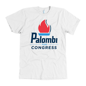 Palombi for Congress T-Shirt - White