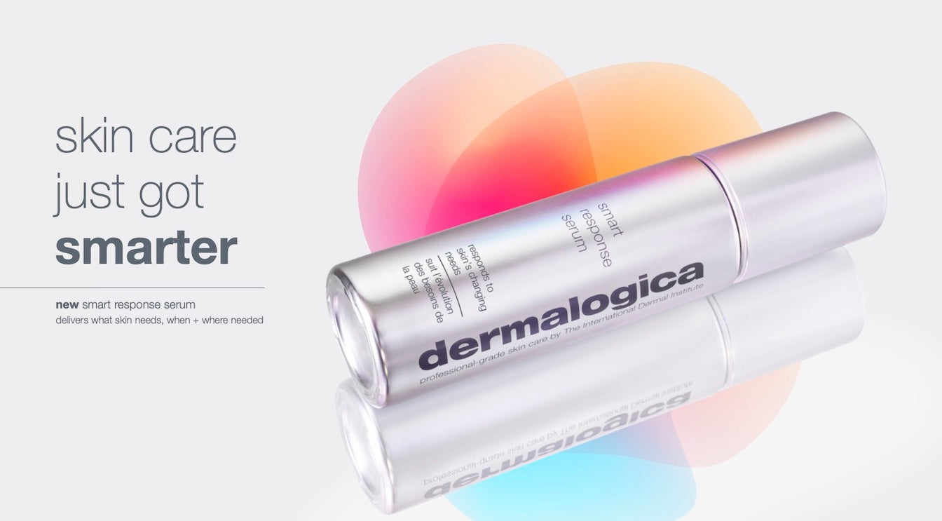 skin care just got smarter. new smart response serum delivers whats skin needs, when + where needed