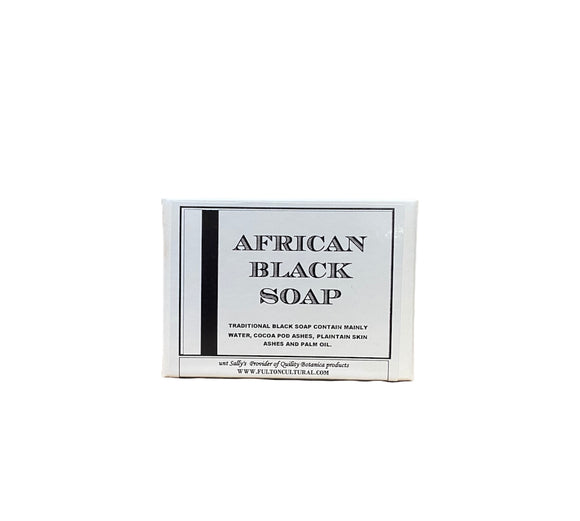 AS African Black Soap Bar Soap