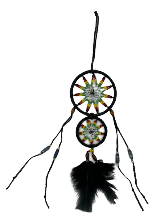 Double Circle Dreamcatcher