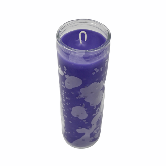 AS Purple Plain 7 Day Candle