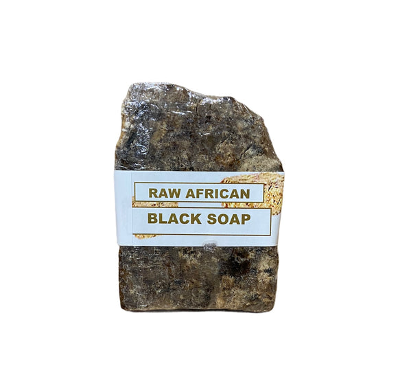 AS Raw African Black Bar Soap