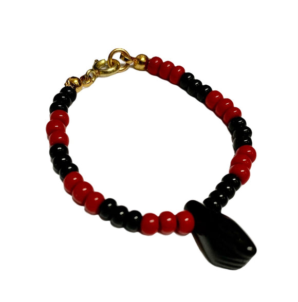 Elegua Protection Bracelet with Fist (Child Size)