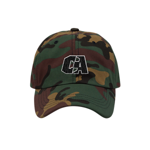 CA Camo Dad Hat